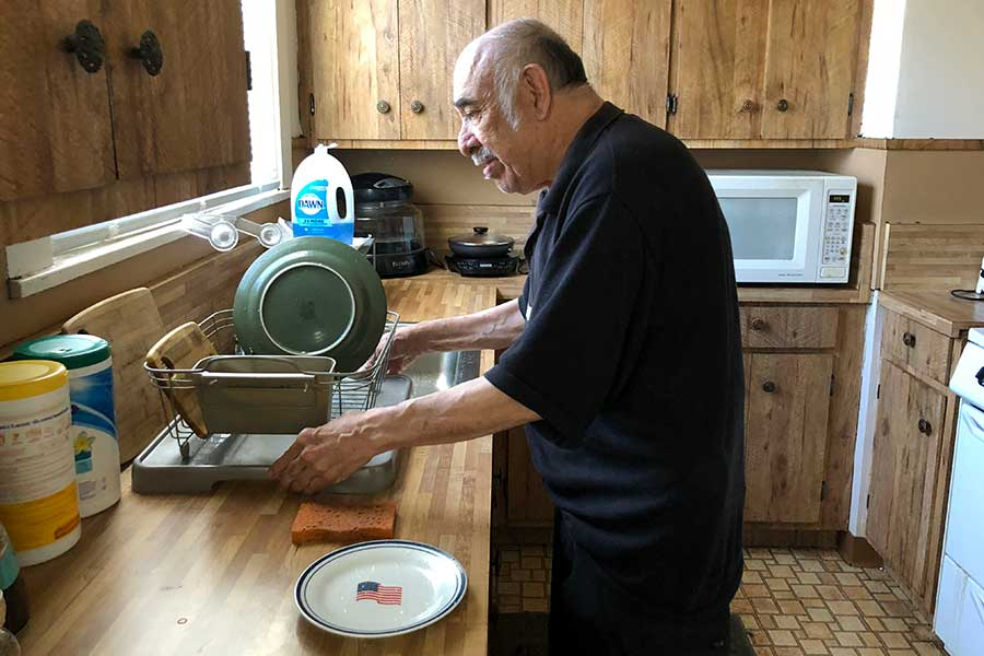 Independent living assists residents with daily life skills.