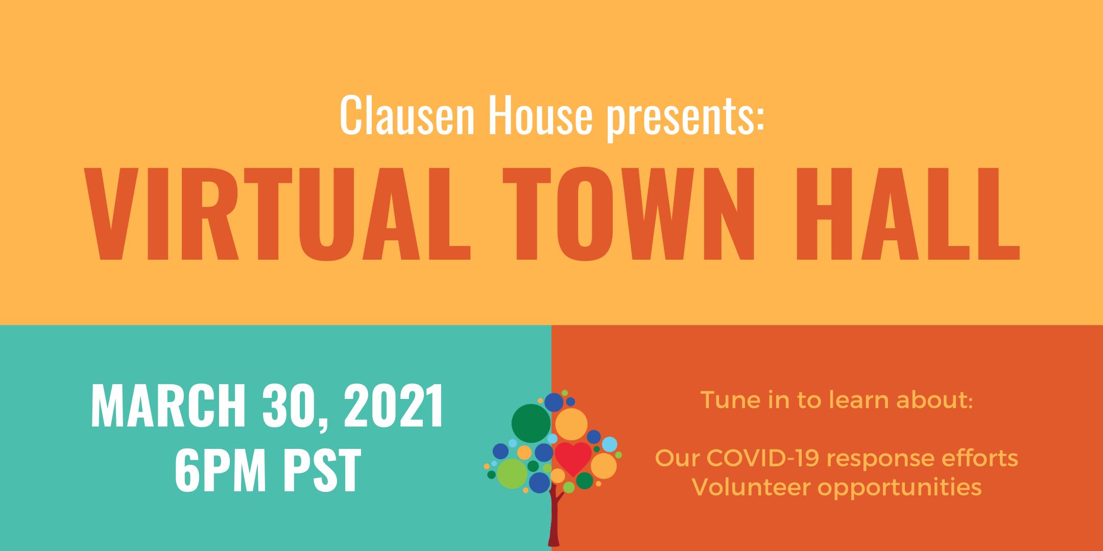 Virtual Town Hall Banner